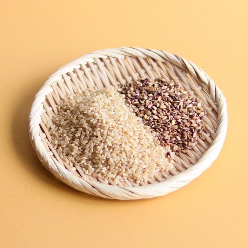 茨城県産 特別栽培玄米3種「 結わえるブレンドもち麦ミックス」