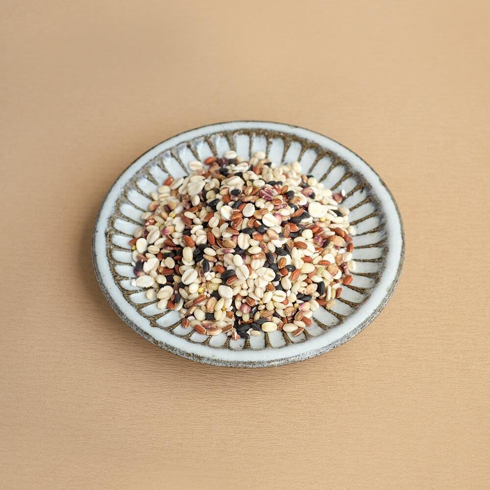 十五種類の国産雑穀をブレンド。