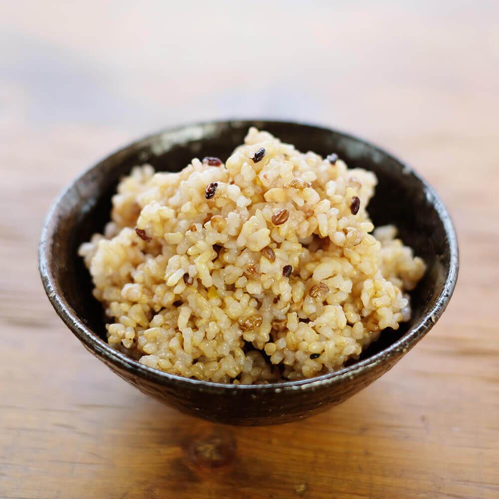 ぷちぷちとした食感が楽しめます。ぜひ、玄米と一緒に炊いてみてください♪