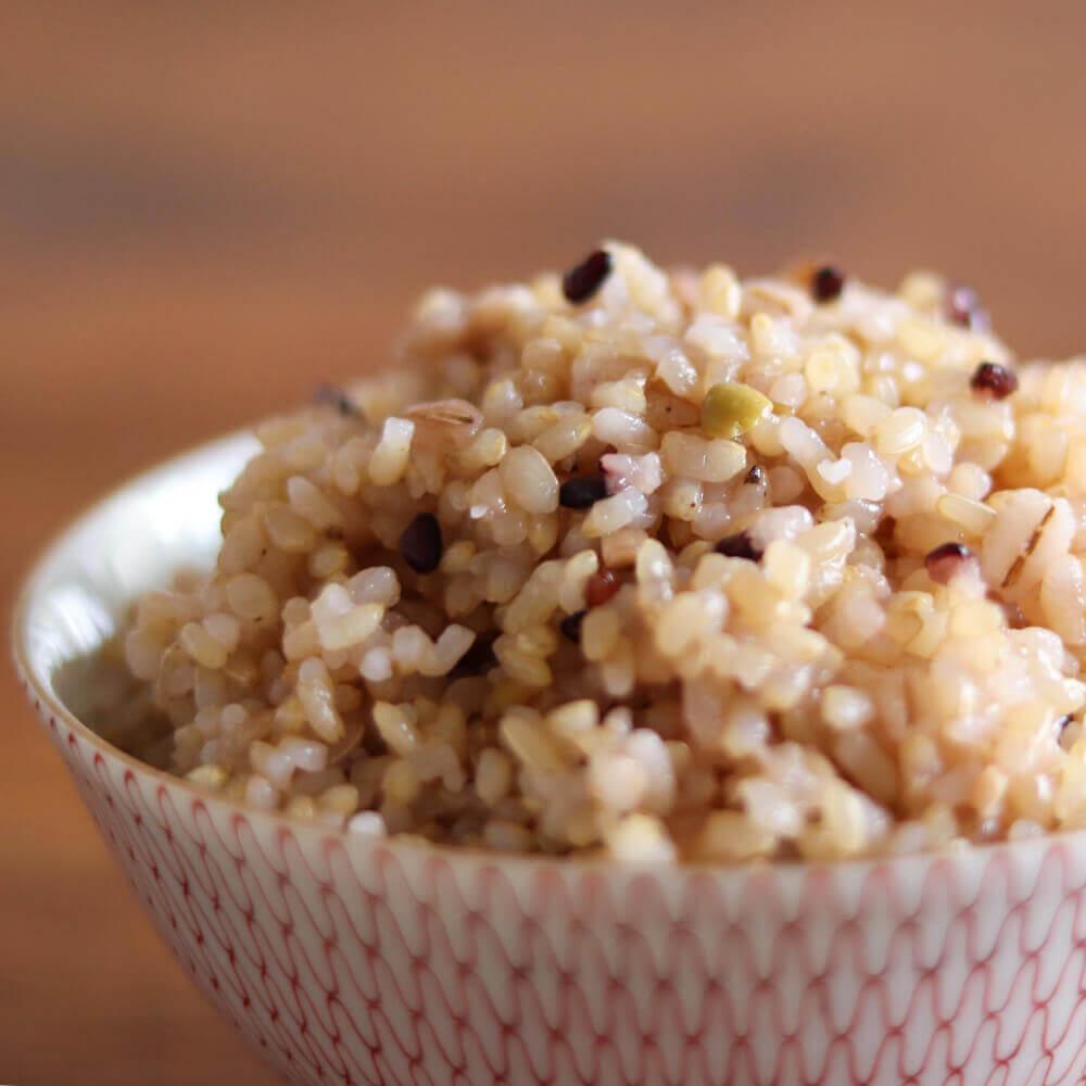 いつものごはんに、混ぜて炊くだけ!洗米せずにOK