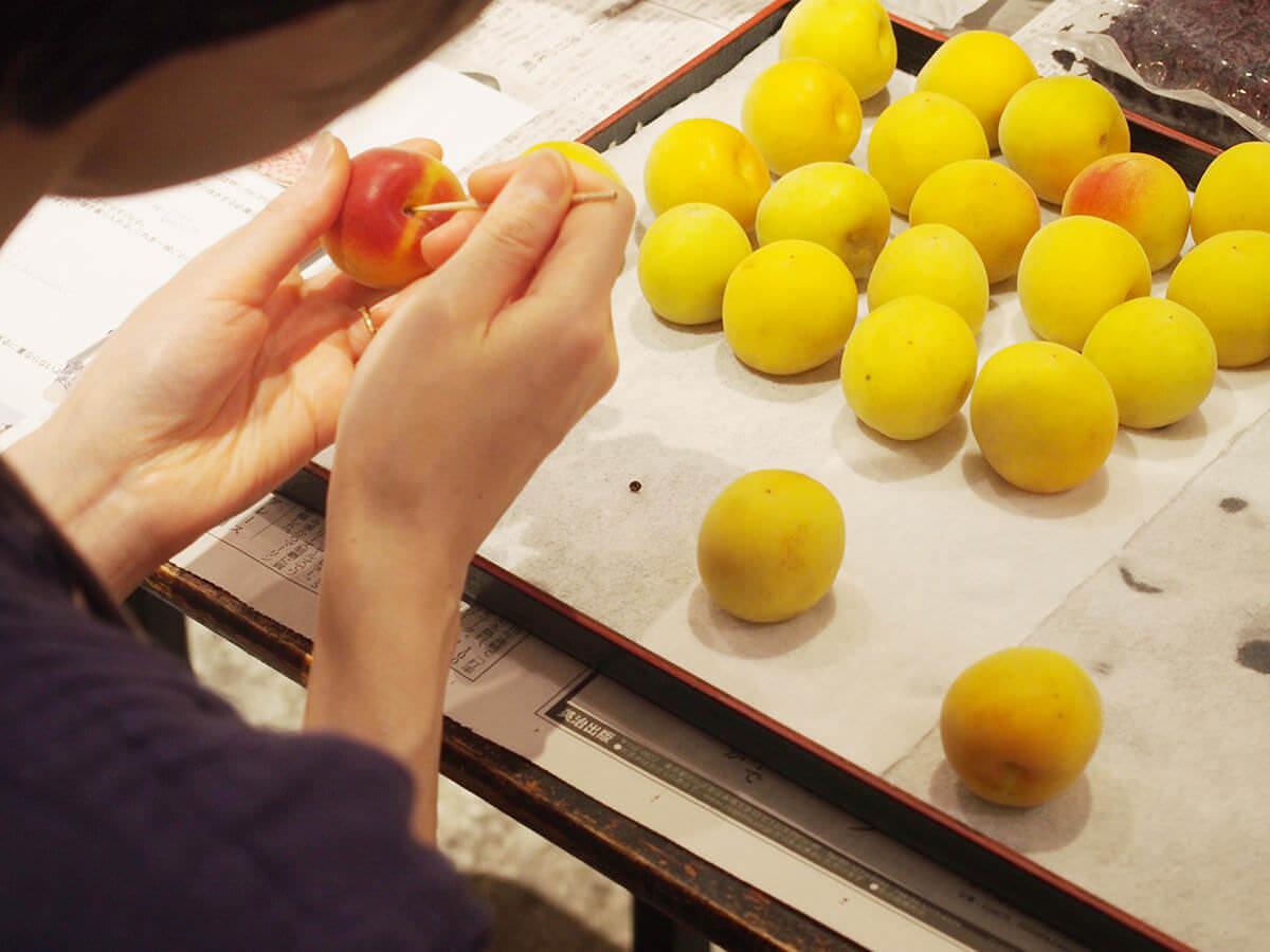 手作り梅干し教室!無添加・天然塩を使った体にいい梅干しをつくろう。@結わえる 蔵前本店