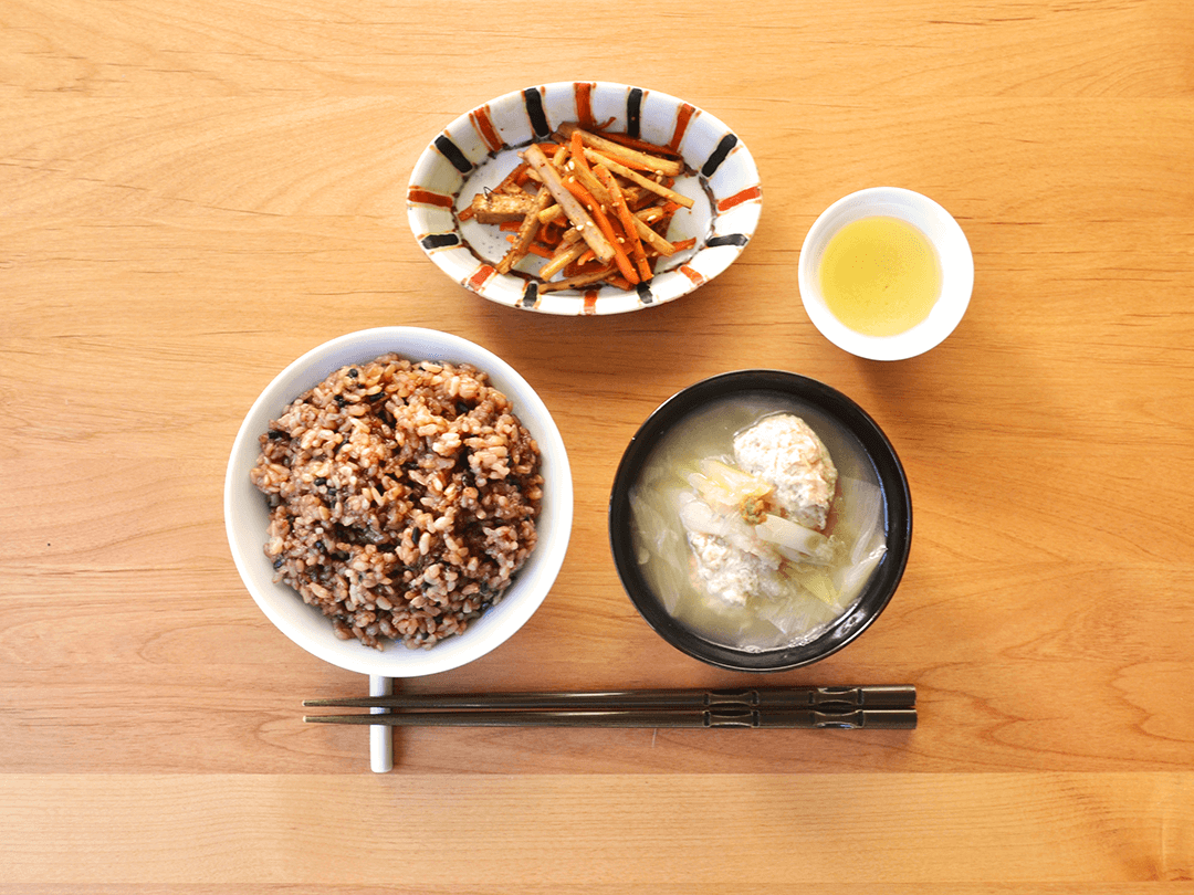 【二十四節気の一汁】立冬の一汁「れんこん鶏団子のスープ」