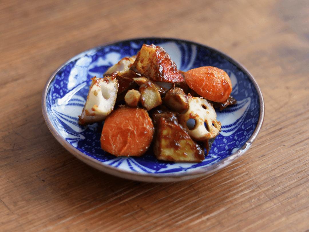 根菜のみそ和え|いろは 仙台アンダンチ店の給食レシピ