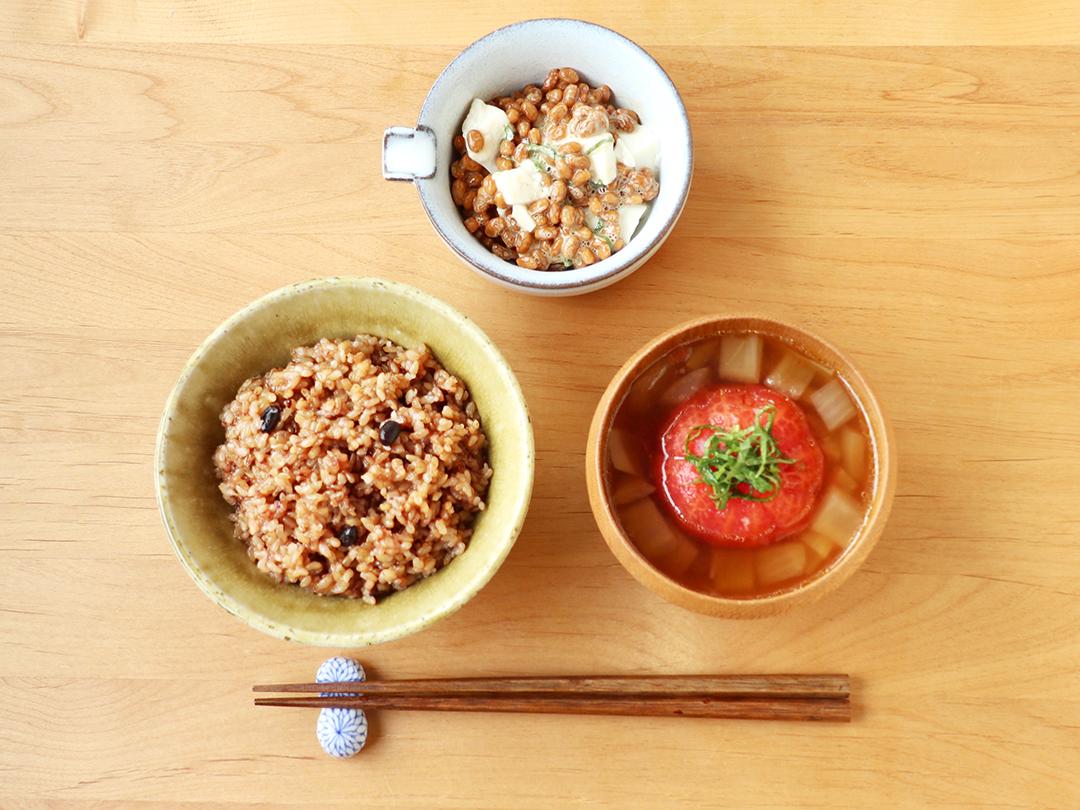 【二十四節気の一汁】芒種「まるごとトマトの生姜スープ」