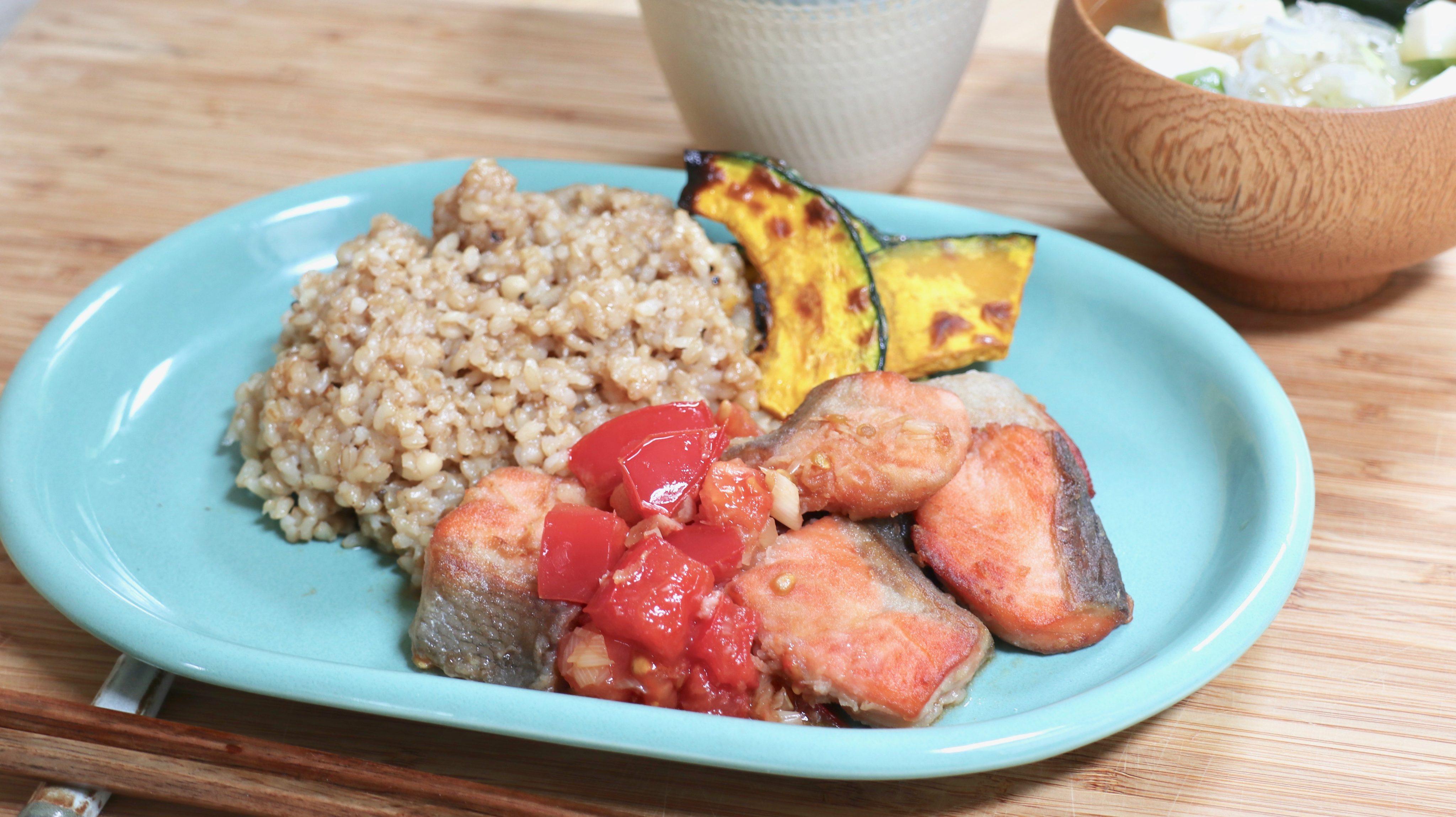 紫外線の強い季節に、おすすめの食品と玄米ワンプレートレシピ