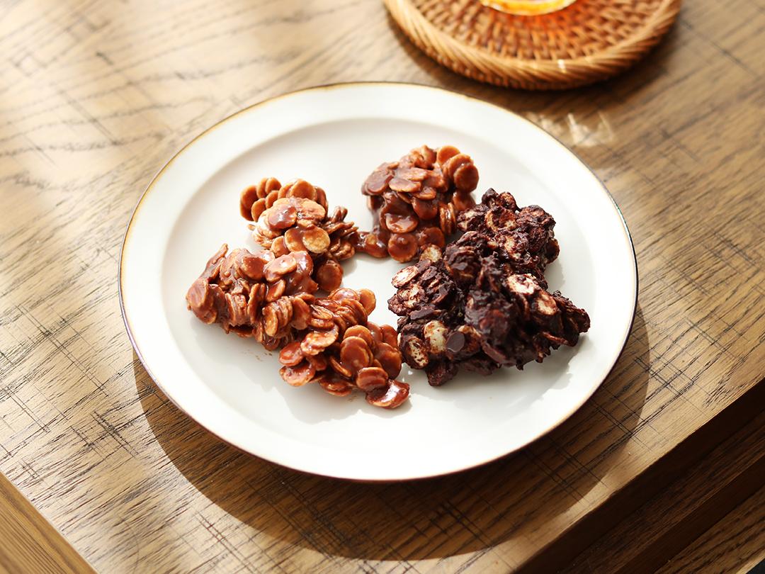 玄米オートミールで作る「チョコクランチ」のレシピ