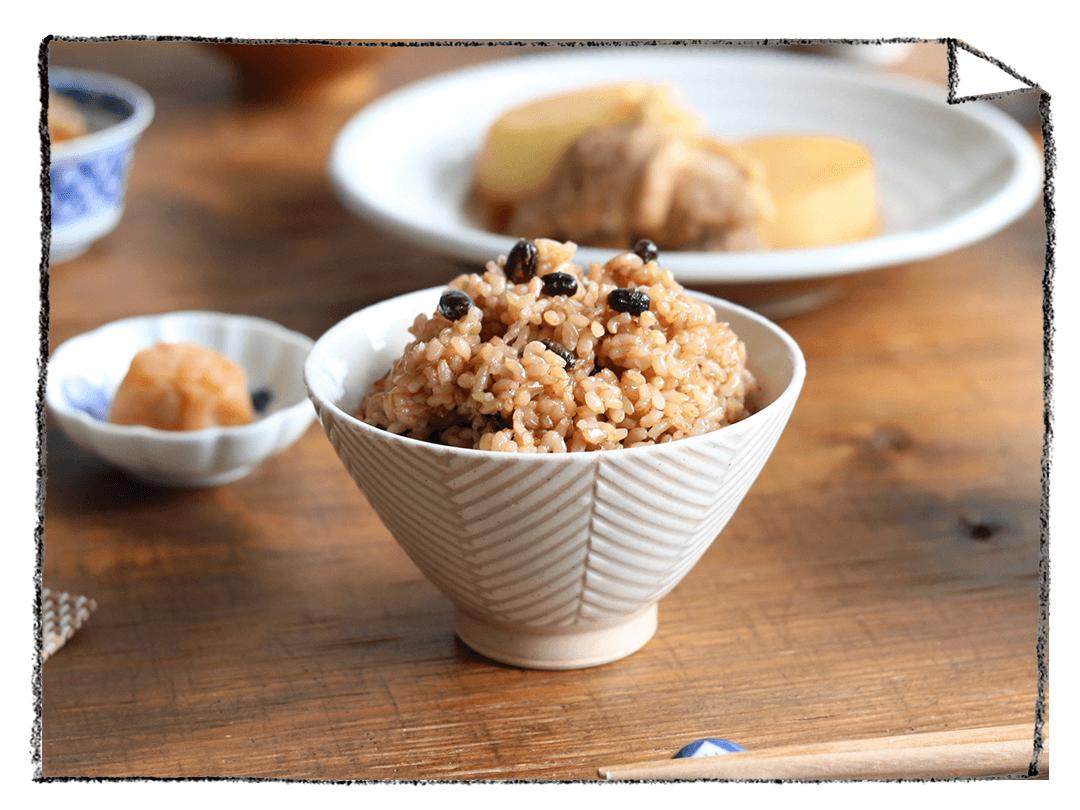 お家でおいしい寝かせ玄米を炊く方法