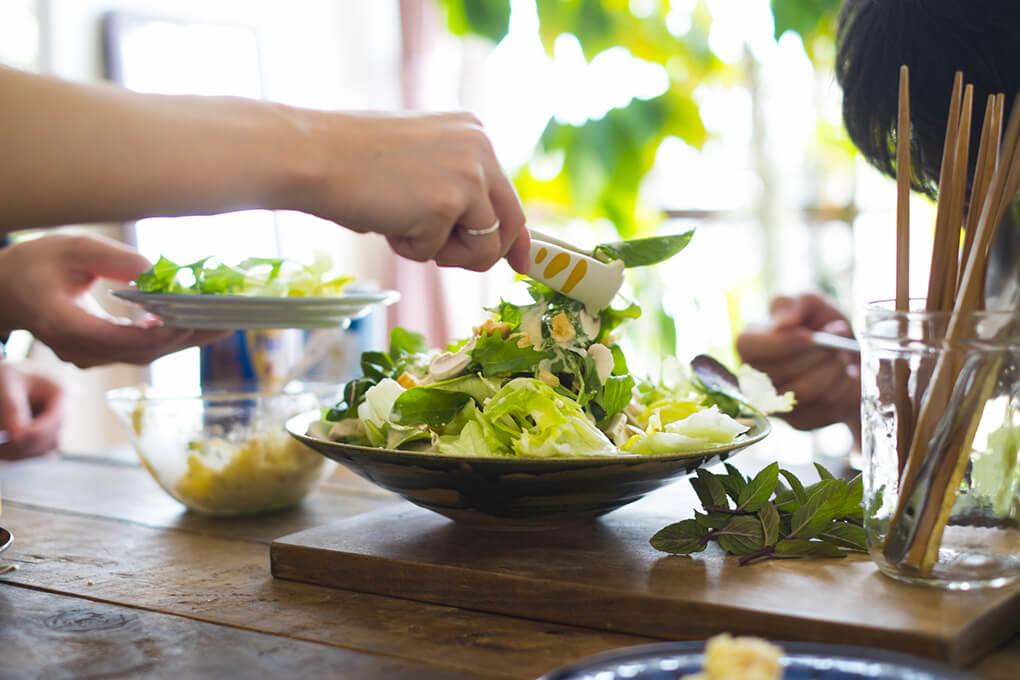 サラダはダイエットに不向き?!<br>痩せたければ「量」より「質」を大切に