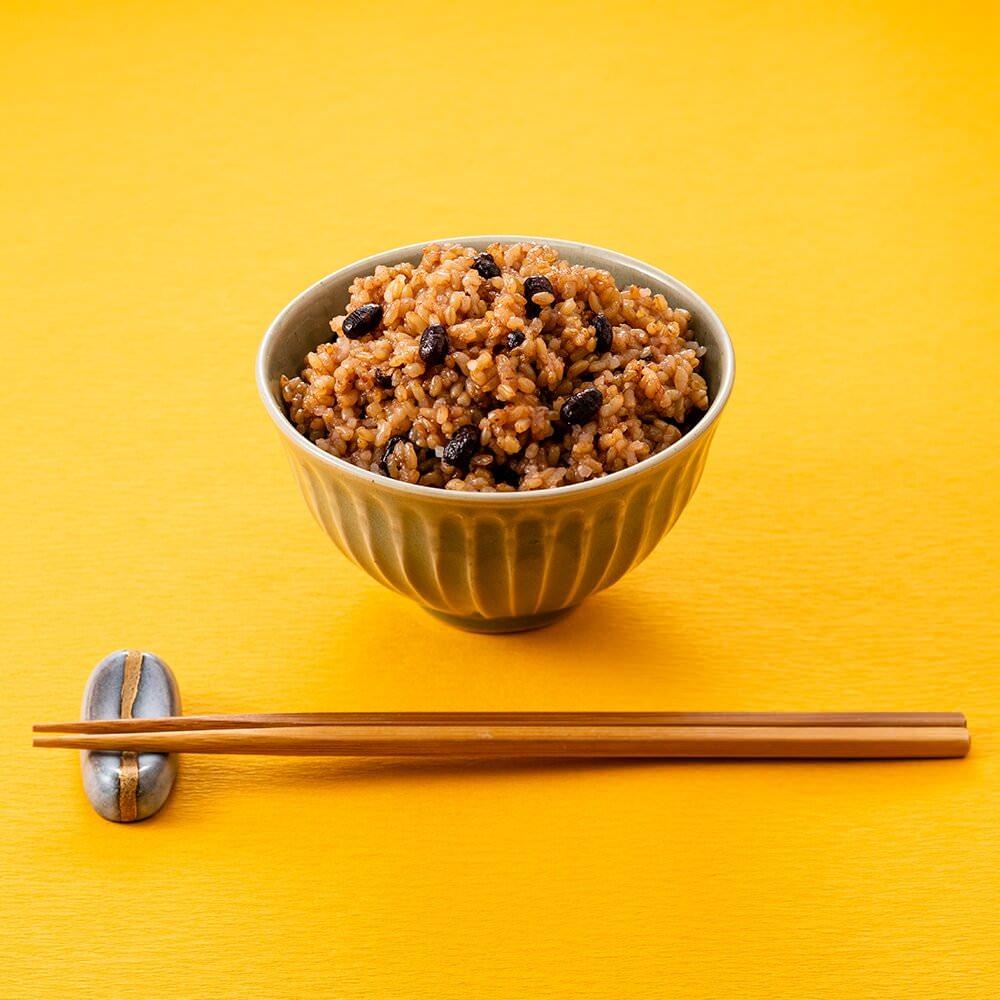 【定期商品】寝かせ玄米 小豆ブレンド24食セット