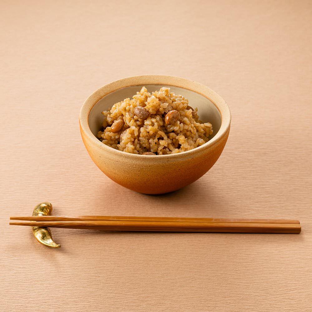 【定期商品】寝かせ玄米 大豆ブレンド24食セット