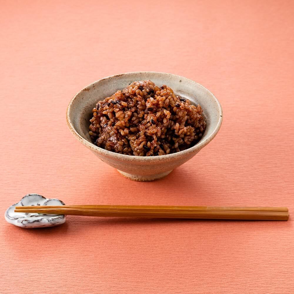 【定期商品】寝かせ玄米 黒米ブレンド24食セット