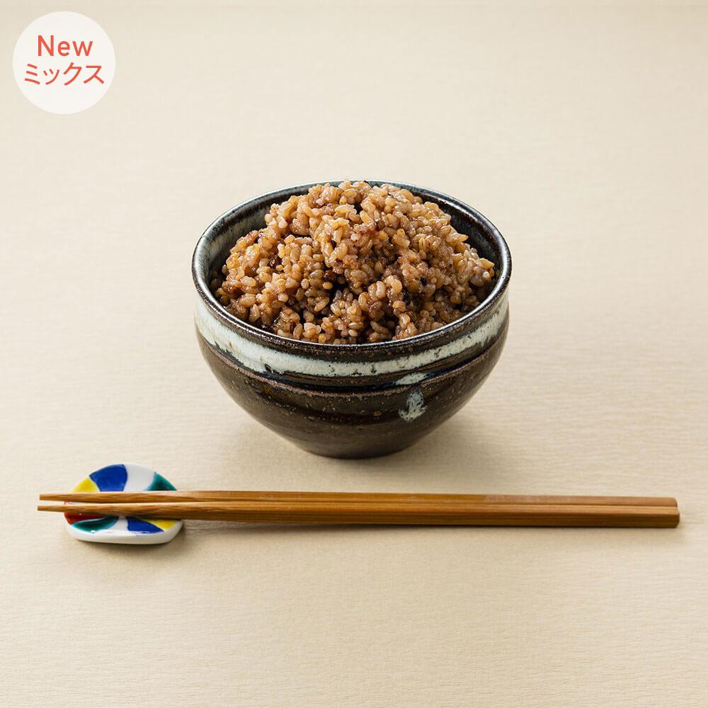 寝かせ玄米6種ミックス<br>24食セット