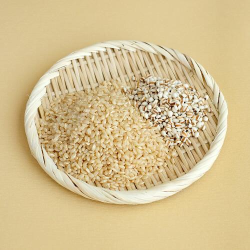 茨城県産 特別栽培玄米3種「 結わえるブレンドはと麦ミックス」