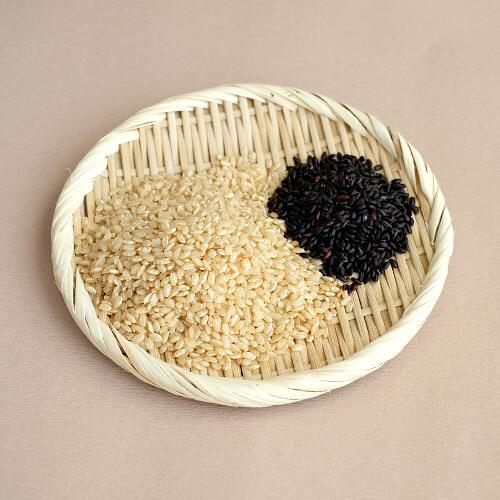 茨城県産 特別栽培玄米3種「 結わえるブレンド黒米ミックス」