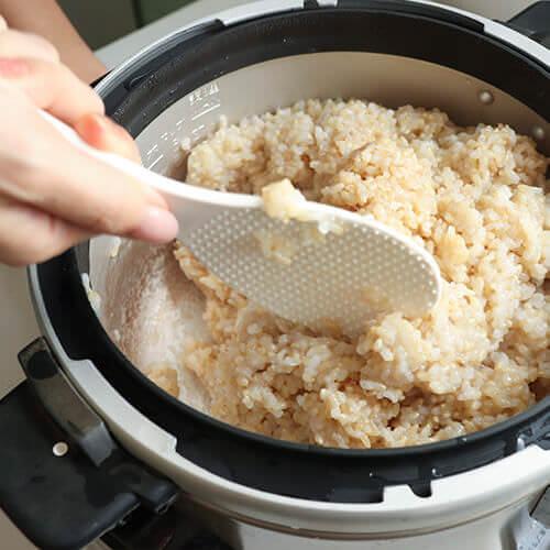 結わえるおすすめの炊き方は圧力鍋です。もちろん、土鍋や炊飯器でも炊けます。