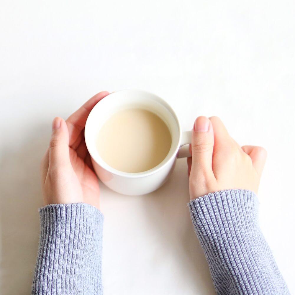 砂糖不使用・ノンアルコールなので、後味さっぱり。豆乳や抹茶を混ぜてアレンジしても。