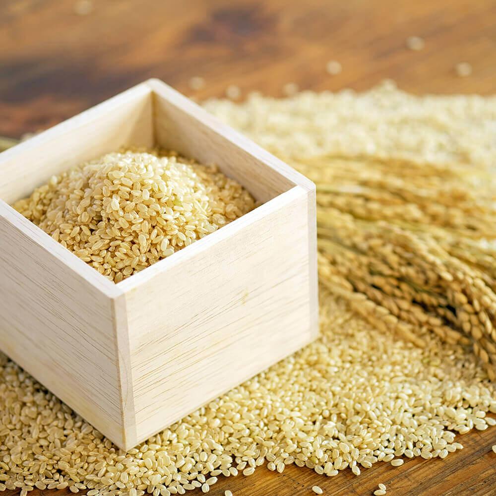 結わえるの玄米は、契約農家さんが栽培している特別栽培米です。茨城県産。