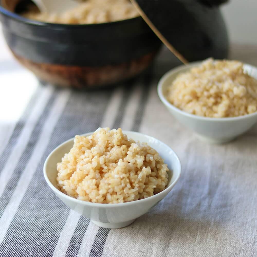 結わえるの美味しい玄米です。