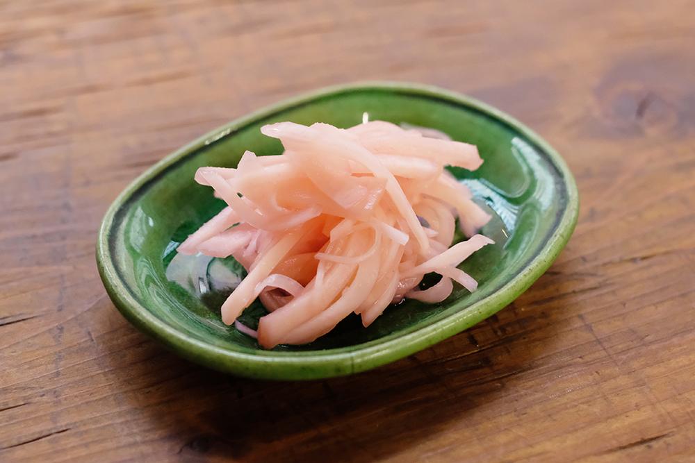 新生姜の酢漬け