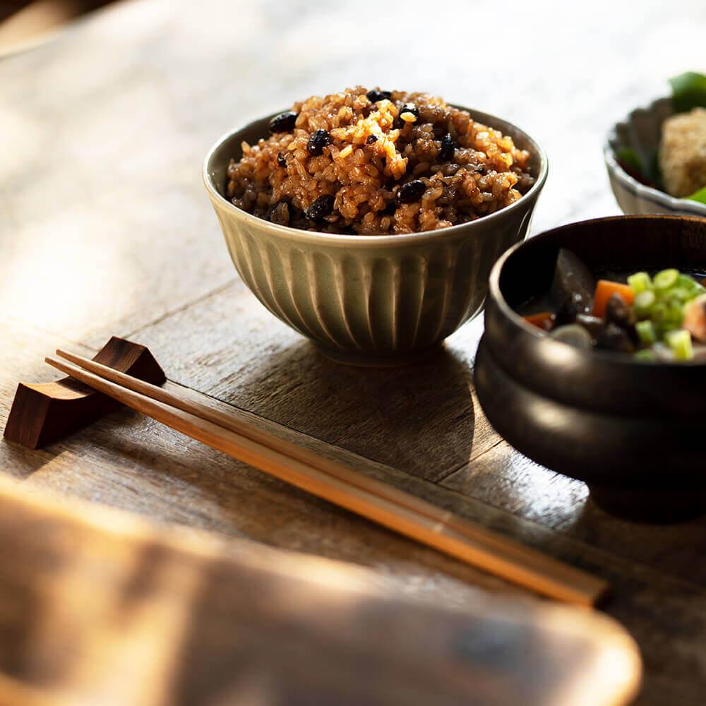 玄米を手軽に食べられるごはんパック