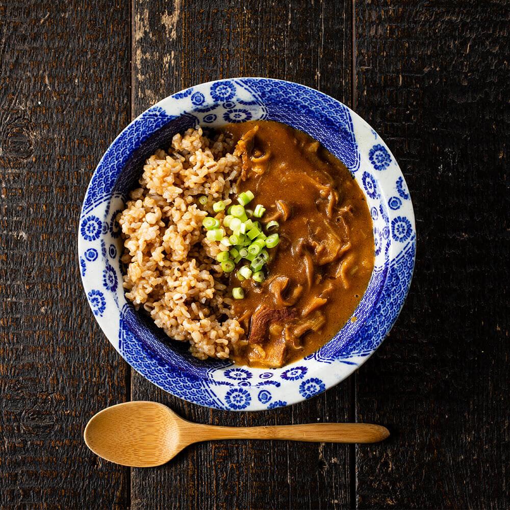 玄米にあう無添加カレー