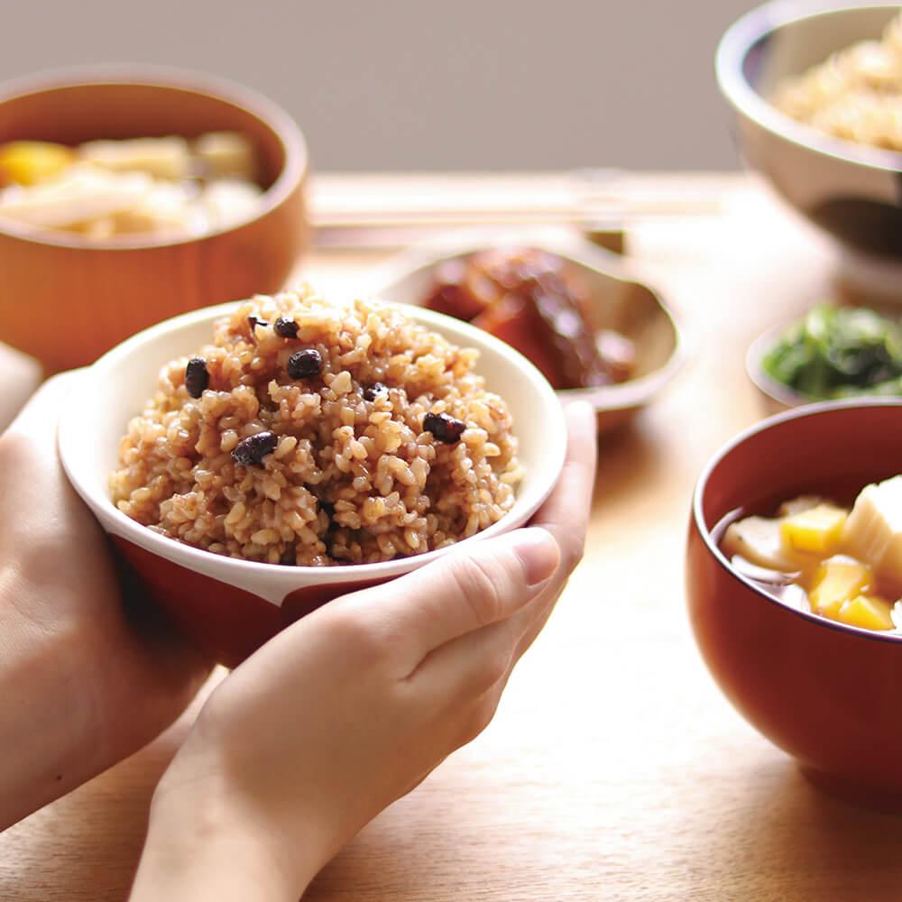 美味しく無理なく楽しく、玄米生活を。