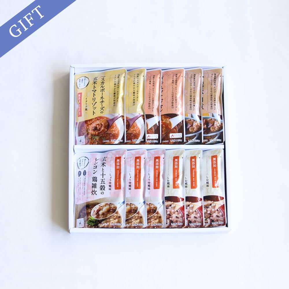お中元 雑炊5種(12食)ギフト