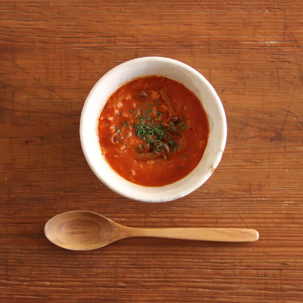マスカルポーネチーズの玄米トマトリゾット(イタリア風)